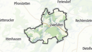 Karte / Zwiefalten