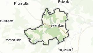 地图 / Zwiefalten
