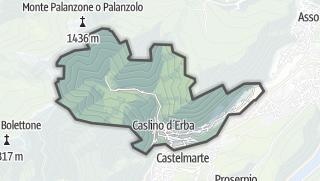 Hartă / Caslino d'Erba