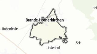 Carte / Brande-Hörnerkirchen