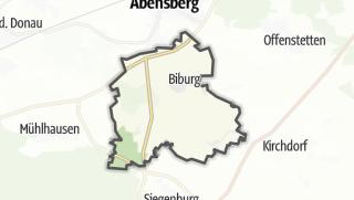 Mapa / Biburg