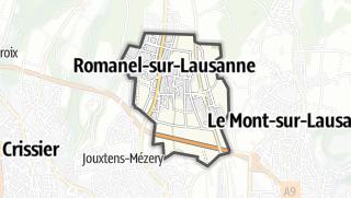 Карта / Romanel-sur-Lausanne