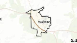 Mapa / Waldbrunn
