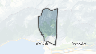 Mapa / Schwanden bei Brienz
