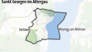 Mapa / Attersee