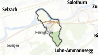 Karte / Lüsslingen