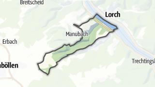 地图 / Oberdiebach