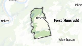 Karte / Liesenich