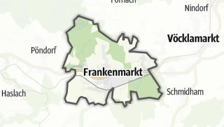Mapa / Frankenmarkt