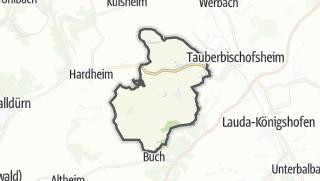 Cartina / Königheim