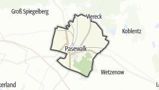 地图 / Pasewalk