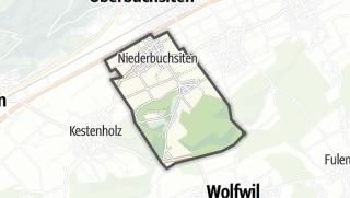 Cartina / Niederbuchsiten