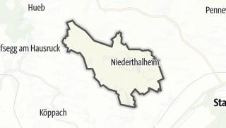 Mapa / Niederthalheim