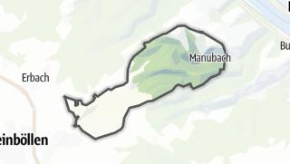 Karte / Manubach