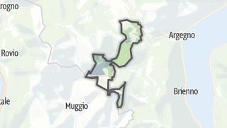 Hartă / Cerano d'Intelvi
