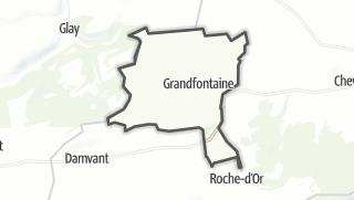 מפה / Grandfontaine