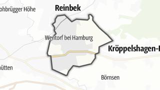 地图 / Wentorf bei Hamburg