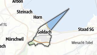 Mapa / Goldach