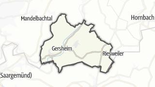 Cartina / Gersheim