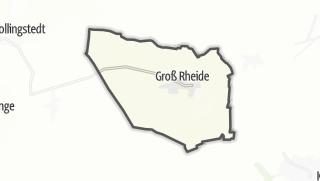 Cartina / Groß Rheide