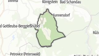 Karte / Rosenthal-Bielatal