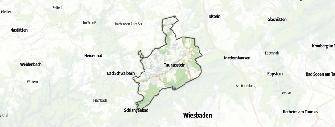 Mappa / Trekking a Taunusstein