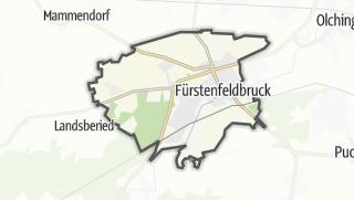 地图 / Fuerstenfeldbruck