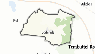 Mapa / Odderade