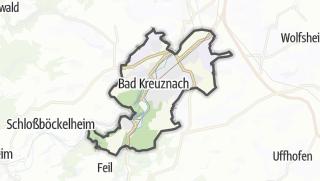 Map / Bad Kreuznach