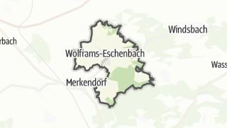 Map / Wolframs-Eschenbach