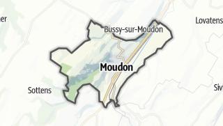 Mapa / Moudon