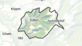 Karte / Trulben