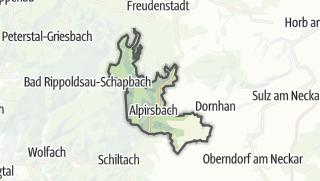 Karte / Alpirsbach