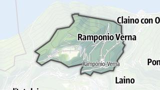 Hartă / Ramponio Verna