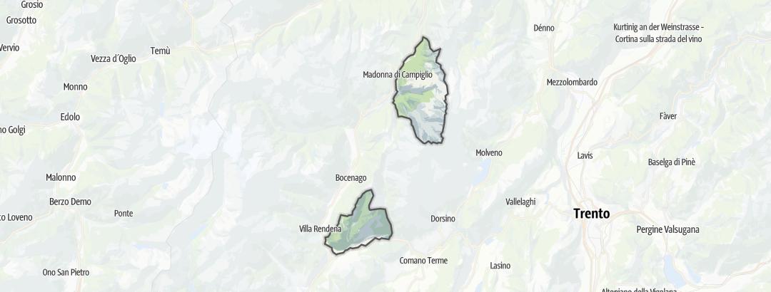 Mappa / Mountain bike a Montagne