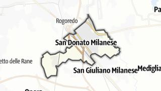Mapa / San Donato Milanese