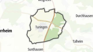 Karte / Tuningen