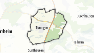 地图 / Tuningen