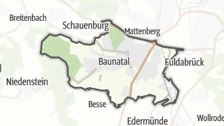 Map / Baunatal