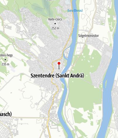 Karte / Szentendre