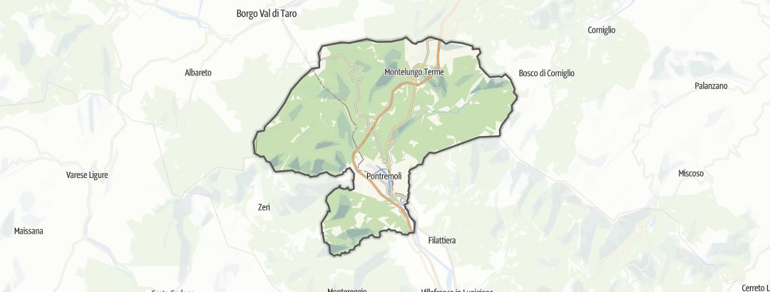 地图 / 在Pontremoli里的远足