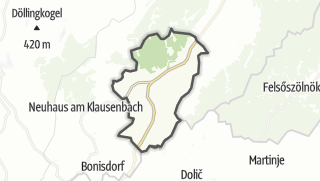 Mapa / Minihof-Liebau