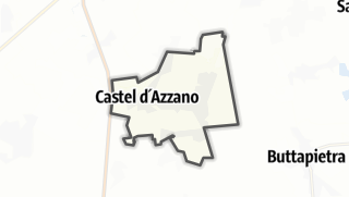 Kartta / Castel d'Azzano