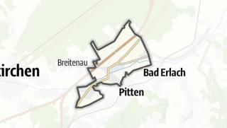 Map / Schwarzau am Steinfeld