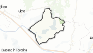 Carte / Penna in Teverina