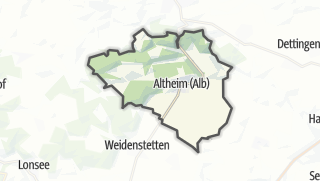 Cartina / Altheim (Alb)