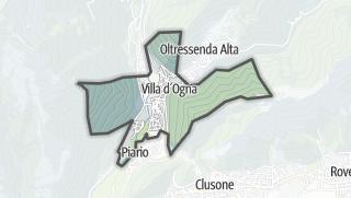 Hartă / Villa d'Ogna