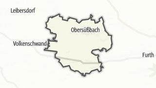 Mapa / Obersüßbach