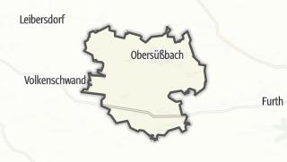 Hartă / Obersüßbach