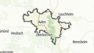Mapa / Aalen
